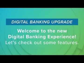 Welcome to the New Digital Banking System